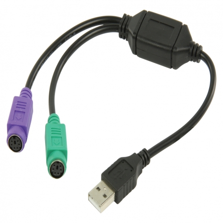 Valueline USB to 2xPS/2