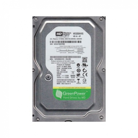 WD 320GB SATA2 HDD