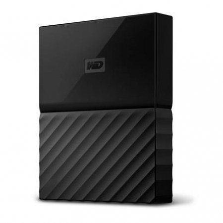 "WD 2TB External HDD My Passport 2.5"" USB 3.0 Black"