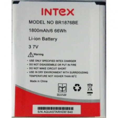 Spare parts - Battery for Intex Aqua HD