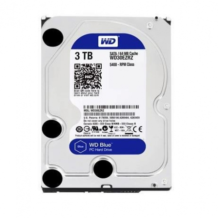 WD 3TB SATA3 HDD Blue