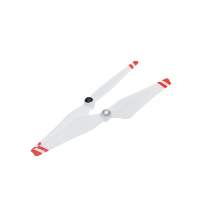 DJI 9450L Self-tightening Rotor - Bijela sa crvenim prugama