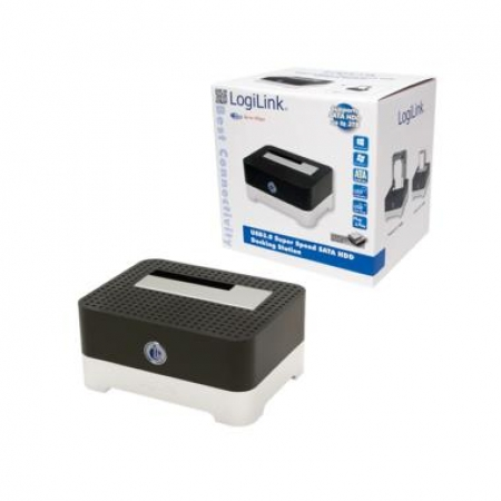"Logilink HDD Quickport 2.5""/3.5"" SATA USB 3.0 QP0016B"