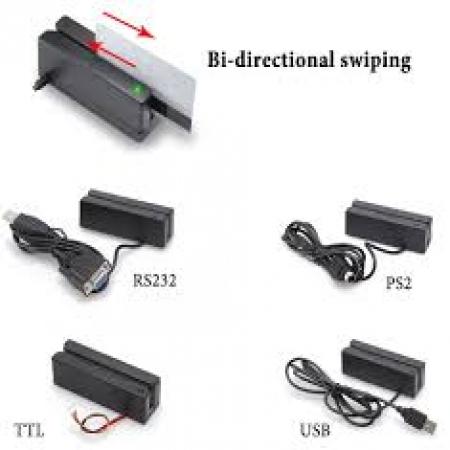 USB magnetic card reader MSR100