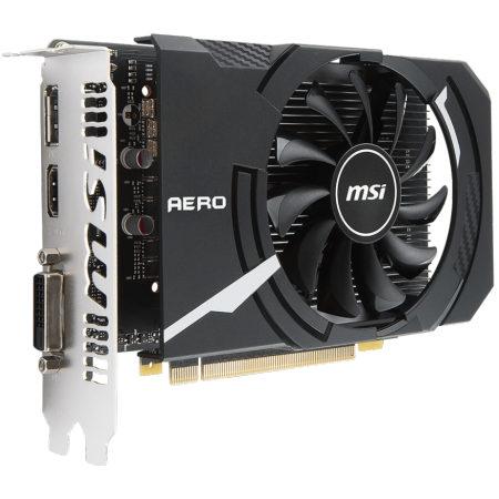MSI NVIDIA GeForce GTX 1050 Ti AERO ITX 4G OCV1