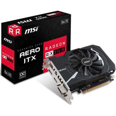 MSI AMD/ATI Radeon RX 560 AERO ITX 4G OC