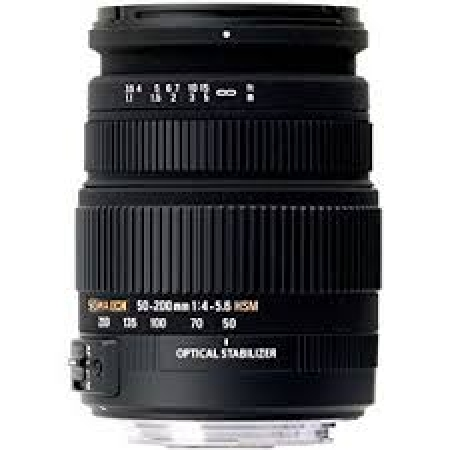 Nikkor objektiv 55-200mm F4-5.6G ED VRII