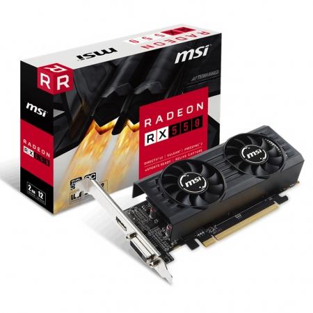 MSI AMD/ATI Radeon RX 550 2GT LP OC