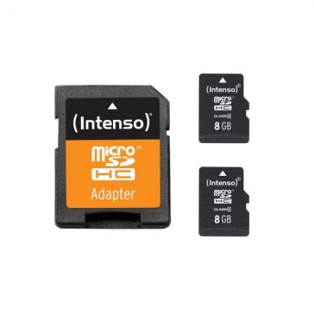 Intenso SD Memory Card 8GB Class 10