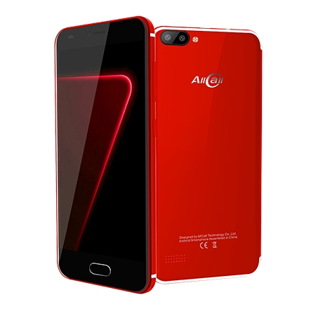 AllCall Smartphone Alpha Red