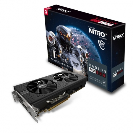 Sapphire AMD/ATI Radeon RX 570 Nitro+ 8GB