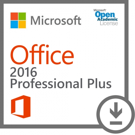 Microsoft Office 365 Pro Plus 2016 Academic OLP
