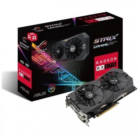 ASUS AMD Radeon STRIX-RX570-04G-GAMING