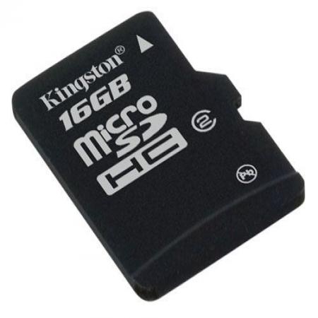 Kingston Micro SDHC Memory Card 16GB Class10
