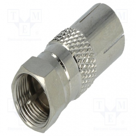 Adapter F-connector - coax F Adapter - FC-026