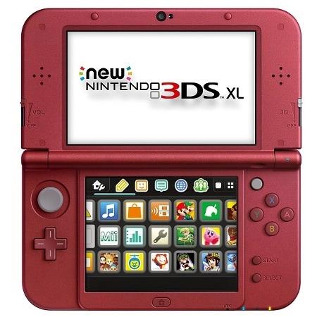 Nintendo NEW 3DS XL Konzola red/black