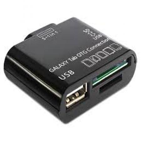 OTG Čitač kartica i USB čitač za Samsung Galaxy tab Tablete 5 in 1