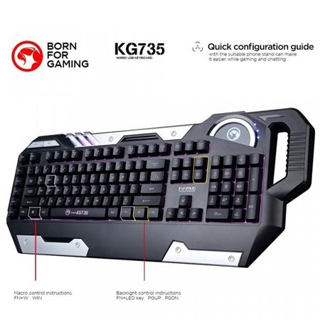 Marvo Gaming tastatura KG735