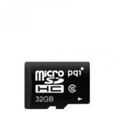 PQI Micro SDHC Memory Card 32GB UHS-I Class10