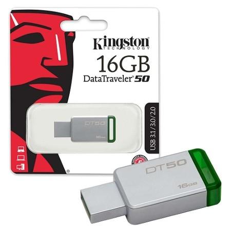 Kingston Memory Usb 16GB DT50 USB 3.1