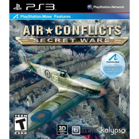Air Conflicts : Secret Wars /PS3 - USED