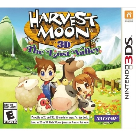 Harvest Moon : The Lost Valley /3DS