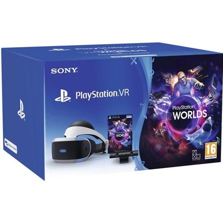 PlayStation VR + PlayStation 4 Camera V2 + VR Worlds