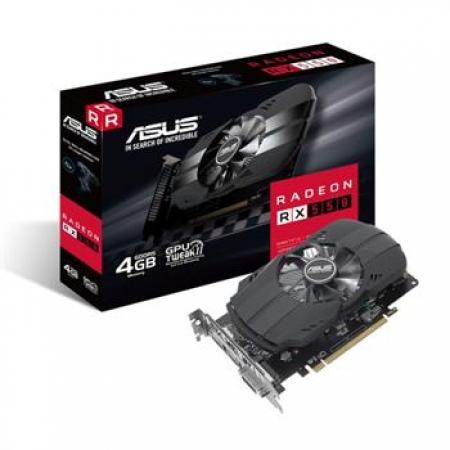 ASUS AMD PH-RADEON RX550 4GB GDDR5