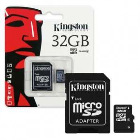 Kingston Micro SDHC Memory Card 32GB Class 4