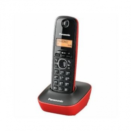 PANASONIC telefon KX-TG1611FXR Red/Black