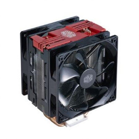 Cooler Master CPU Cooler Hyper 212 LED Turbo Black Cover