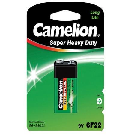 Baterija Camelion Super Heavy Duty 9V 6F22-BP1G