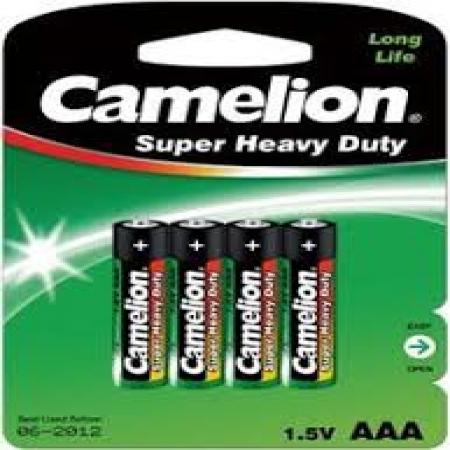 Baterije Zelene Camelion 4 KOM 1,5 AAA R03P-BP4G