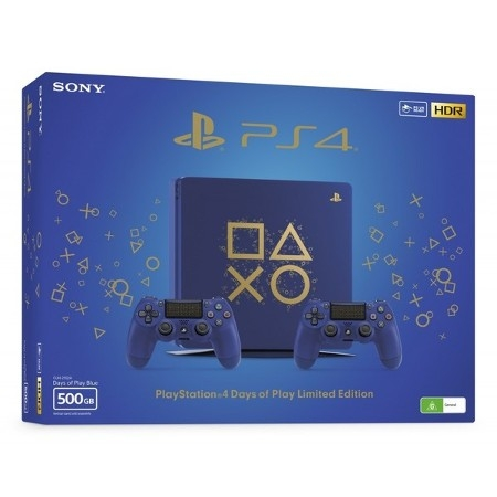 Playstation 4 500GB Slim Days Of Play Special Edition + Dotatni Days Of Play Kontroler