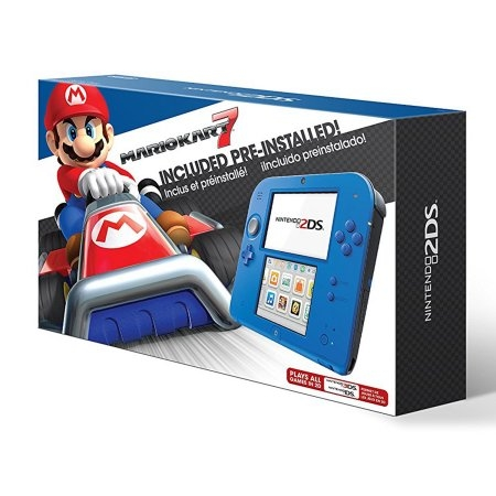 Konzola Nintendo New 2DS - Blue + Mario Kart 7