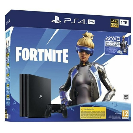 Playstation 4 Pro 1TB G Chassis + Fortnite VCH 2019