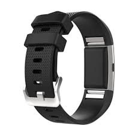 Fitbit Narukvica  FB407SBKL-EU Charge 2 black/silver