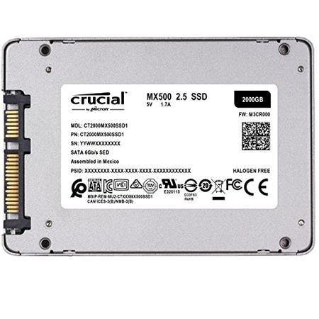 Crucial SSD 2.5 2TB MX500