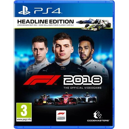 F1 2018 Headline Edition /PS4