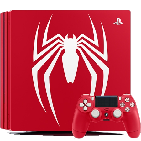 Playstation 4 Pro 1TB B Chassis Special Edition Marvels Spiderman