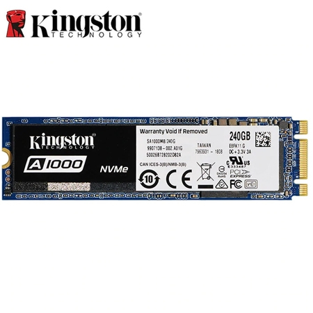 Kingston SSD 240GB  M.2 NVMe A1000