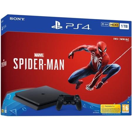 Playstation 4 1TB Slim F chassis + Marvels Spiderman