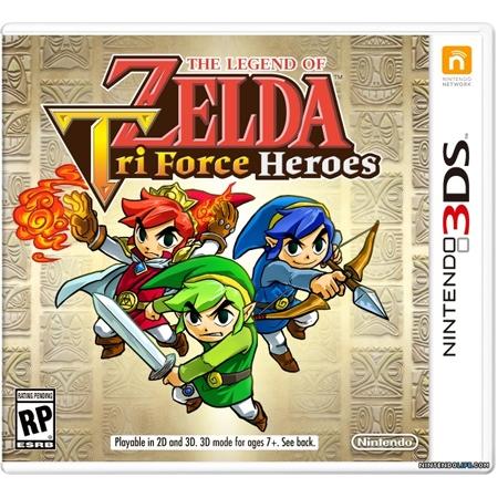 The Legend Of Zelda : Tri Force Heroes /3DS