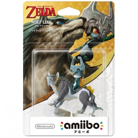 Figura Amiibo Wolf Link