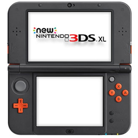 Konzola Nintendo New 3DS XL - Orange / Black