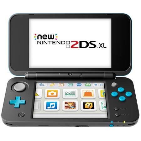 Konzola Nintendo New 2DS XL - Black / Turquoise