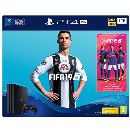Playstation 4 PRO 1TB  + Fifa 19 + 14 Dana PS Plus