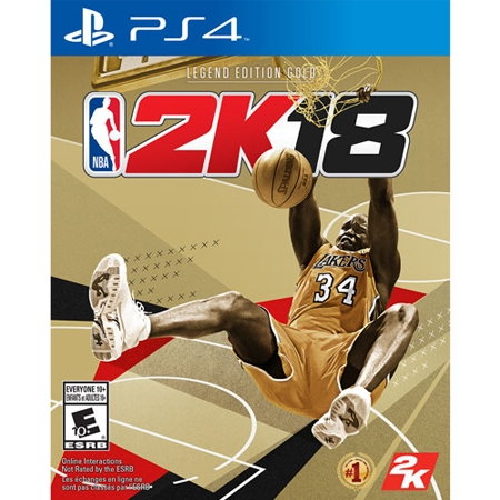 NBA 2K18 SHAQ LEGEND EDITION /PS4 USED