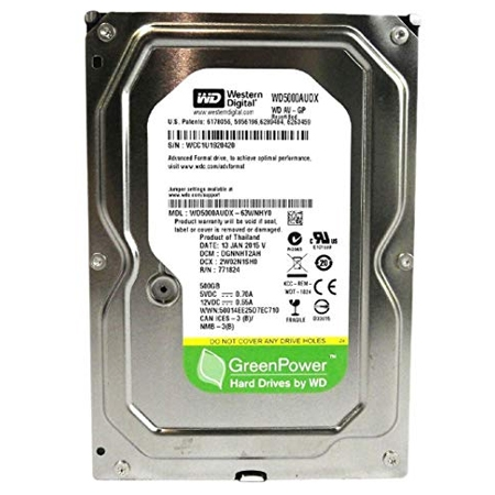 WD HDD 500GB WD5002AVDS Pull