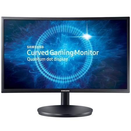 "24"" Samsung C24FG70 144Hz Curved Gaming Display"